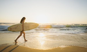 Open Ocean Surfing Lesson: Two-Hour Group Surf Lesson for One or Two from Open Ocean Surfing Lesson (Up to 42% Off)