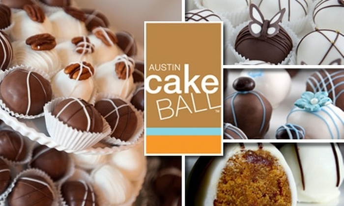 Austin Cake Ball - Wooten: $12 for One Dozen Cake Balls from Austin Cake Ball ($25 Value)