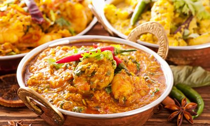 image for Two-Course Meal for Two or Four at The Original India Garden (Up to 51% Off)