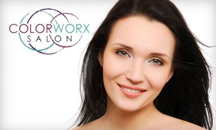 Colorworx Salon & Spa - Springfield MO: $40 for a Diamond-Tipped Microdermabrasion Treatment at Colorworx Salon & Spa ($100 Value)