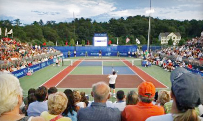 Boston Lobsters at the Ferncroft Country Club - Middleton: $80 for a Box Seat and Sports Package to Boston Lobsters Tennis Match on July 18 in Middleton