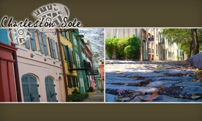 Charleston Sole - Charlestowne: $9 for Two-Hour Walking Tour with Charleston Sole ($18 Value)