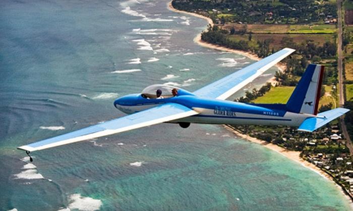 SkySurfing Glider Rides Hawaii - North Shore: Scenic Glider Flight for Two or Aerobatic Glider Flight for One from SkySurfing Glider Rides Hawaii in Waialua (Half Off)