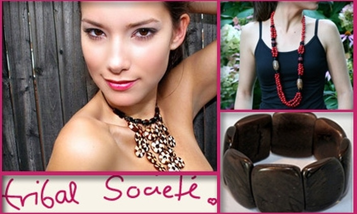 Tribal Societé - New York City: $25 for $50 Worth of Handmade Jewelry, Accessories, and More at Tribal Societé
