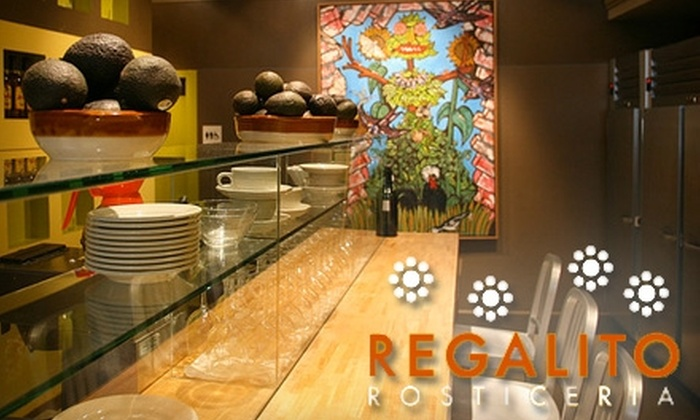 Regalito Rosticeria - Mission Dolores: $20 for $40 Worth of Traditional Mexican Market Food at Regalito Rosticeria