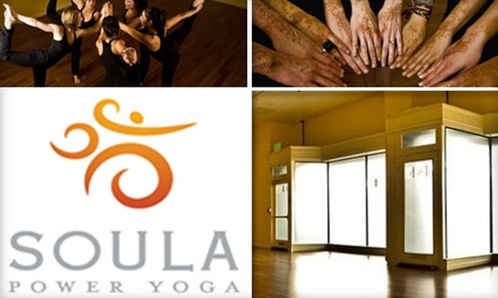 Soula Power Yoga - Downtown San Jose: $30 for One Month Unlimited Yoga at Soula Power Yoga