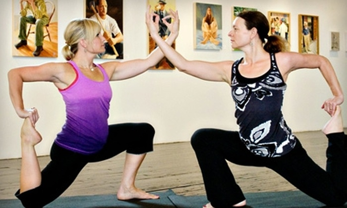 Lotus Yoga, Wellness & Gallery - Fort Wayne: $30 for One Month of Unlimited Classes at Lotus Yoga, Wellness & Gallery