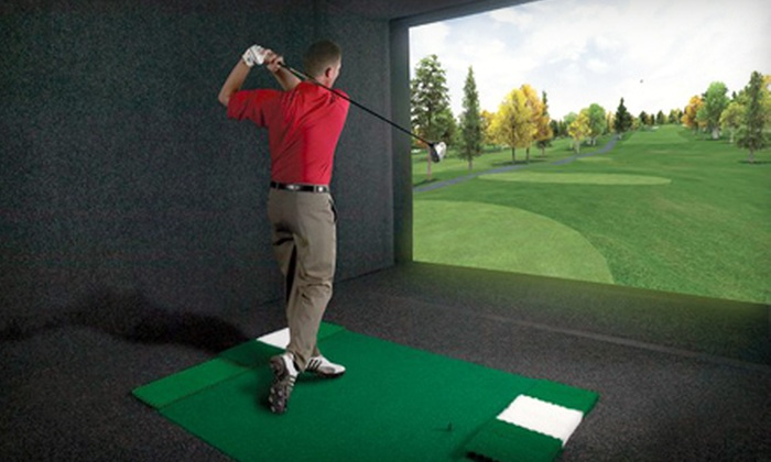 Stony Creek Golf Course - Oak Lawn: Golf-Simulation Outing for Two or Four at Stony Creek Golf Course in Oak Lawn (Up to 51% Off)