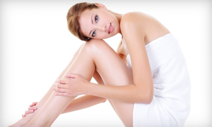 NV Medical Spa - Multiple Locations: $99 for Six Laser Hair-Removal Sessions at NV Medical Spa (Up to $2,100 Value)