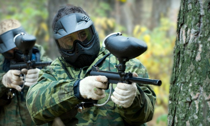 Husker Paintball Adventures - Liberty: $25 for a Saturday Paintball Outing for Two with Equipment Rental at Husker Paintball Adventures in Murray ($50 Value)