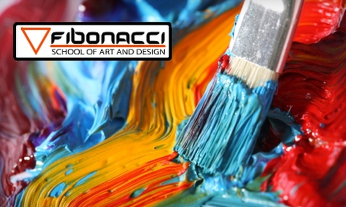 Fibonacci School of Art and Design - Yorba Linda: $49 for One Month of Unlimited Kids' Art Classes ($238 Value) at Fibonacci School of Art and Design in Yorba Linda