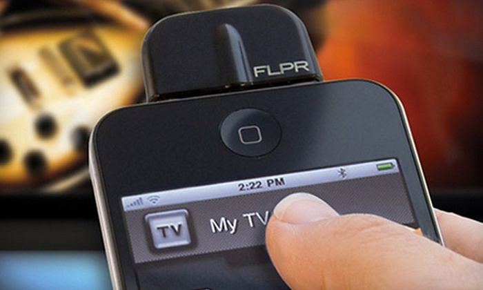 iPhone Universal Remote: $25 for an FLPR Programmable Universal Remote Control for the iPhone, iPod Touch, and iPad. Shipping Included ($74.99 Value).