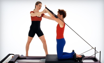 Intro Pilates Reformer Class with 4 or 9 Level-One Classes at Polestar Physical Therapy & Pilates Center (Up to 72% Off)