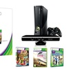 Microsoft Xbox 360 250GB Console with Kinect and 3 Games