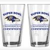 $19 for Baltimore Ravens Championship Pint Glasses