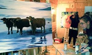 Lynda Diamond Painting Classes: Four Introductory Oil-Painting Classes for One or Two at Lynda Diamond Painting Classes (Up to 66% Off)