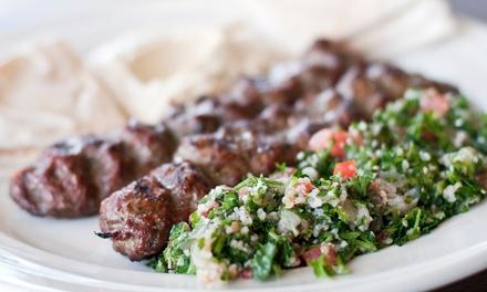 $15 for $25 Worth of Mediterranean and Middle Eastern Lunch or Dinner for Two at Cafe Amasi