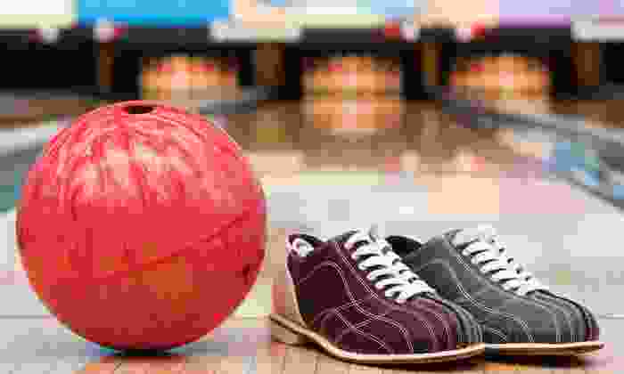 Delaware Lanes - Delaware: Bowling with Shoes for Two, or Bowling with Shoes, Soda, and Hot Dogs for Four at Delaware Lanes (Up to 56% Off)