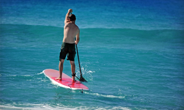 OEX La Jolla - La Jolla Shores: Two-Hour Standup Paddleboard Rental, Four-Hour Soft-Top Surfboard Rental, or Both from OEX La Jolla (Up to 60% Off)