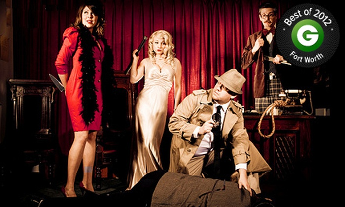 The Murder Mystery Company - Multiple Locations: Dinner Show for One or Two from The Murder Mystery Company (Up to 53% Off)