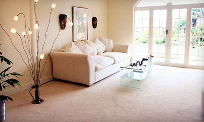 Crimson & Blue Carpet Care - Lawrence: $59 for Carpet Cleaning for Three Rooms and One Hallway from Crimson & Blue Carpet Care ($120 Value)