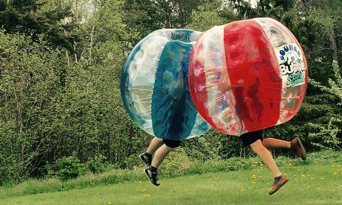 Bounce Bubble Sports - Halifax: One or Two Hours of Bubble Soccer for Up to 10 at Bounce Bubble Sports (up to 50% Off)