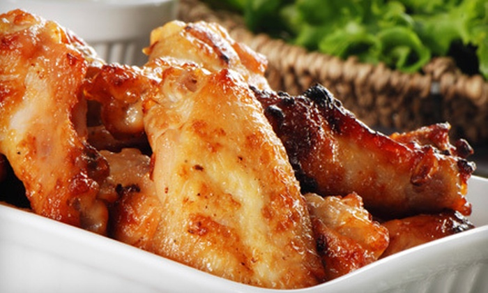 The Hofbrau - Canonsburg: Chicken Wings and Pub Fare for Two or Four at The Hofbrau in Canonsburg (Up to 51% Off)