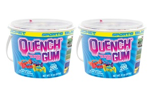 2 Buckets of Quench Gum