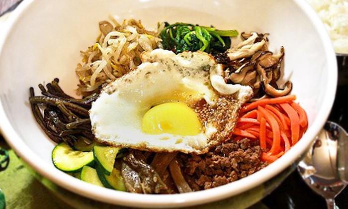 Seoul Saskatoon - Riversdale: Korean Cuisine and Drinks at Seoul Saskatoon (Up to 52% Off). Two Options Available.