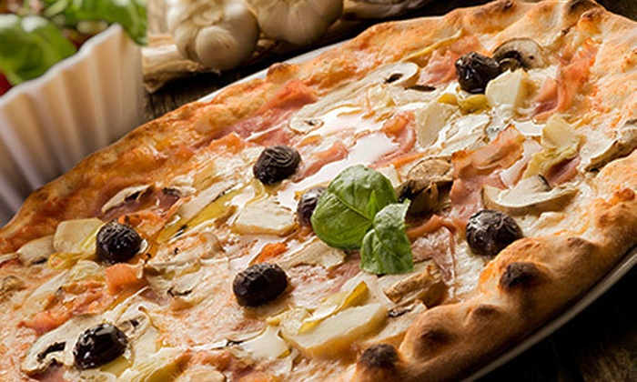 Super Pizza One - Tamiami: Pizza Meals at Super Pizza One (Up to 54% Off). Two Options Available.