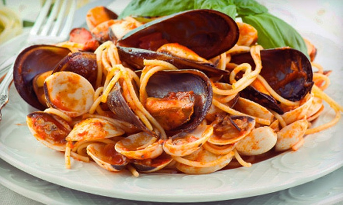 Francesca's Ristorante Italiano - Buffalo: Italian Entrees and Wine for Two or Four at Francesca's Ristorante Italiano (Up to 59% Off)