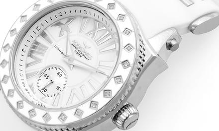 procédés de teinture minutieux personnalisé meilleur prix Montre Aquaswiss ornée de 24 diamants véritables ...