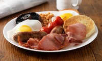 English Breakfast for One or Two at Nans Kitchen (Up to 32% Off)
