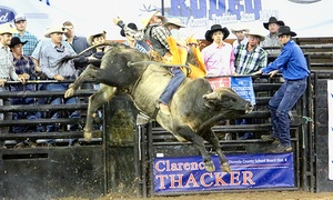 "Silver Spurs Rodeo: ""Monster Bulls"" Bull-Riding Event or Silver Spurs Rodeo (February 13–21)"