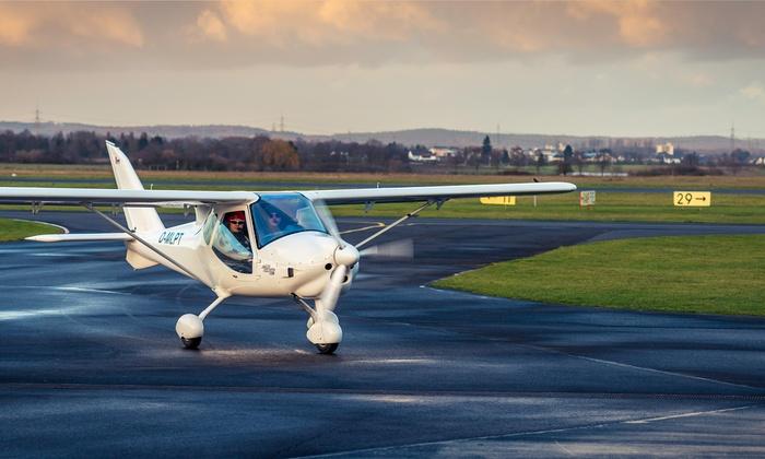 """Pied Piper Air - Flugplatz Bonn-Hangelar: """"Pilot für einen Tag"""" – Flugzeug selber fliegen in Bonn bei Pied Piper Air (60% sparen*)"""