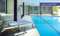 Blackpool: 1 or 2 Nights for 2 with Meals, Wine, Leisure Access, Late Check-Out and Optional Tea at The Imperial Hotel