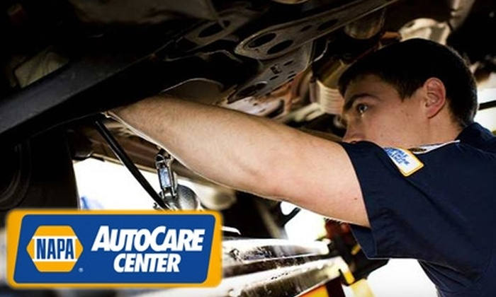 NAPA AutoCare Center - Multiple Locations: $30 for Oil Change and Vehicle Inspection at NAPA AutoCare Center ($70 Value). Choose from Eight Locations.