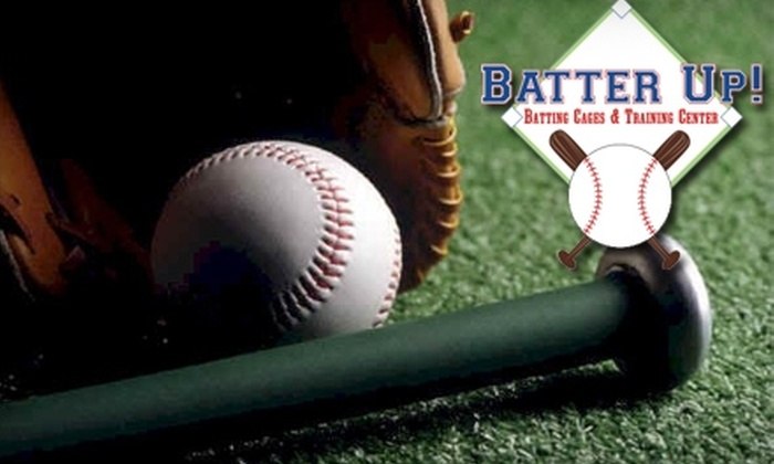 Batter Up! - Mount Pleasant: $11 for 11 Rounds in the Batting Cage at Batter Up! ($25 Value)