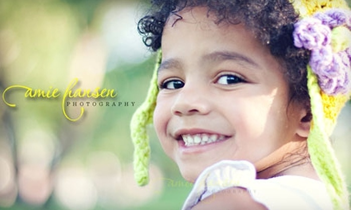 Amie Hansen Photography - Sioux Falls: $55 for a One-Hour Family Portrait Session, Prints, and Digital Files from Amie Hansen Photography ($575 Value)