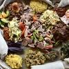 Afrikanisches 3-Gänge-Menü