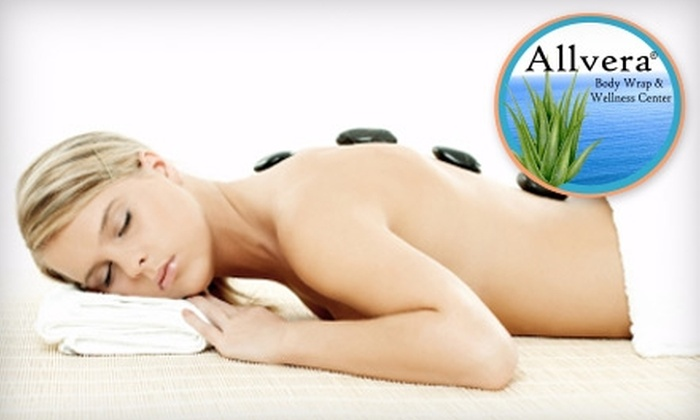 Allvera Body Wrap & Wellness Center - Stringtown Connection: $27 for a Body Wrap ($55 Value) or $49 for a 60-Minute Hot-Stone Massage ($105 Value) at Allvera Body Wrap & Wellness Center in Grove City