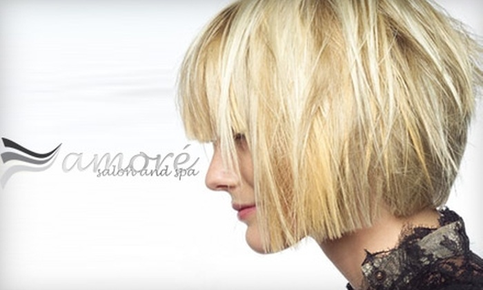 Amoré Salon and Spa - Pearl: $49 for $100 Worth of Services at Amoré Salon and Spa