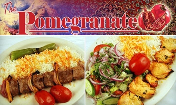 The Pomegranate - Amherst: $6 for $12 Worth of Mediterranean Fare at The Pomegranate