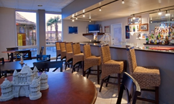 Beachside Grill & Lounge - Padre Island: $50 for a Valentine's Day Dinner for Two at Beachside Grill & Lounge ($100 Value)