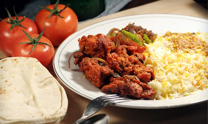 LaZeez Restaurant - Central Avenue: Pakistani and Northern Indian Fare or a Two-Course Meal for Two at LaZeez Restaurant