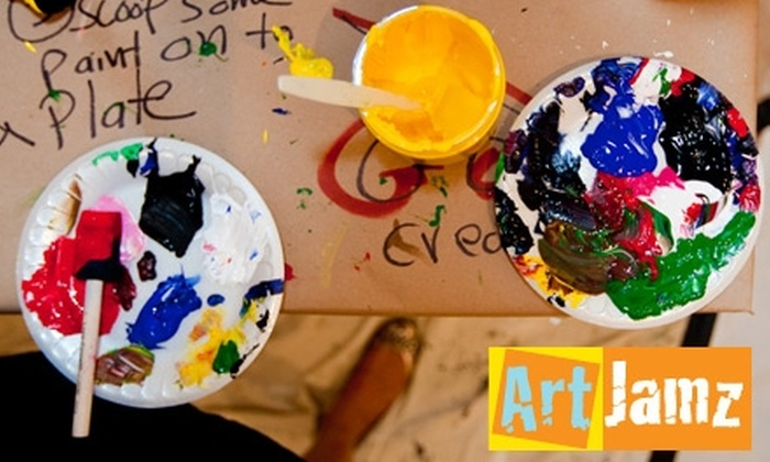 ArtJamz: $35 for a Painting Party from ArtJamz ($64.29 Value)