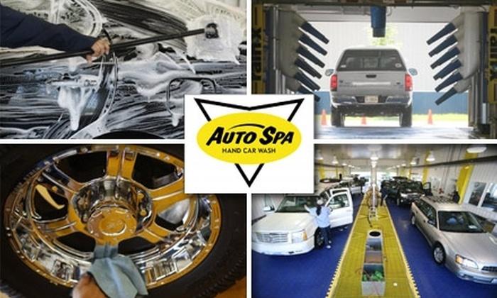 Auto Spa Hand Wash - Cockeysville: $18 for Interior Clean and Exterior Wash and Wax from Auto Spa Hand Car Wash