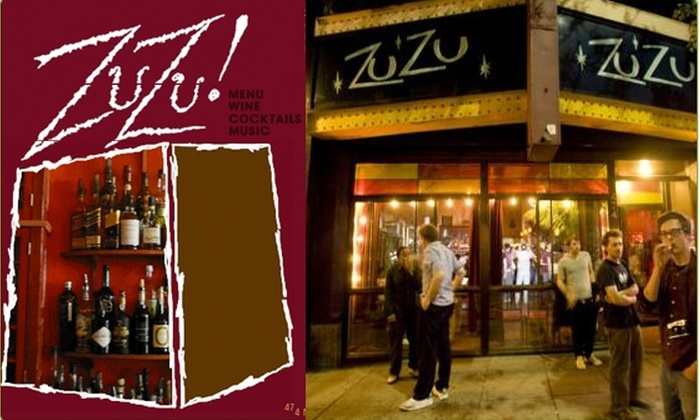 ZuZu! - Cambridgeport: $20 for a $40 Groupon to ZuZu! Restaurant - 50% off