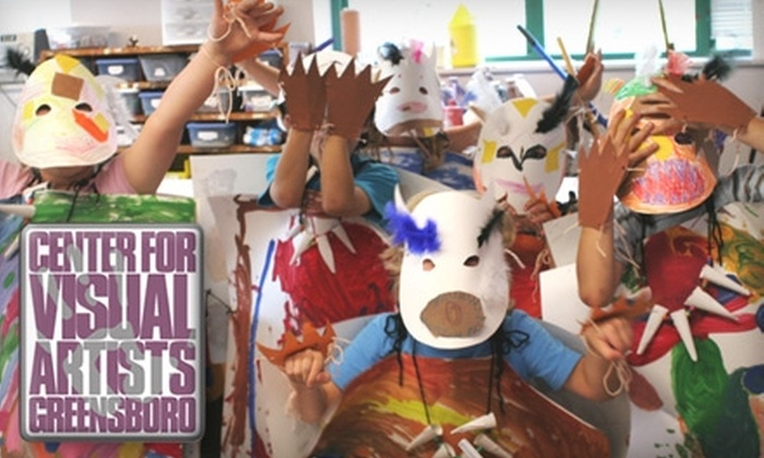 The Center for Visual Artists - Downtown: $12 for an All-Day Artventure Class for Kids at The Center for Visual Artists ($25 Value)