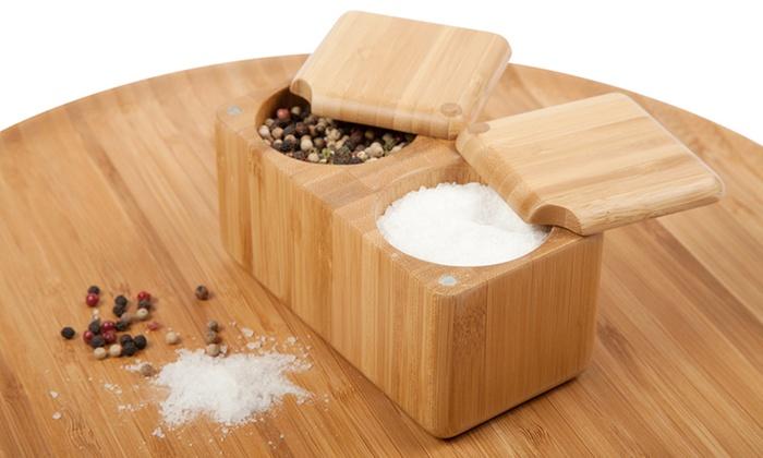 Core Bamboo Double-Square Salt Box: Core Bamboo Double-Square Salt Box. Free Returns.